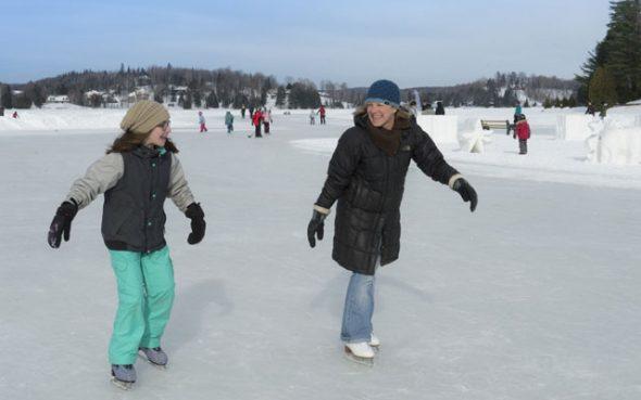 Le patin dans les Laurentides