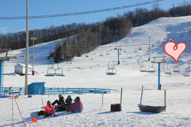 Ski Chantecler par Pascale Langlois