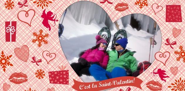 Quoi faire dans les Laurentides pour la Saint-Valentin?