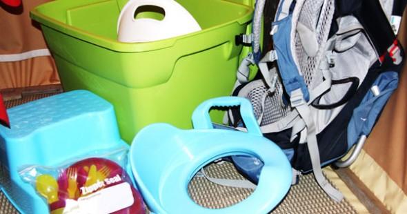 Le matériel bébé/bambin est mis à la disposition des parents qui en font la demande. Merci Sépaq!