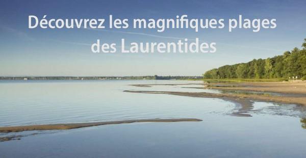 Les plages des Laurentides à découvrir!