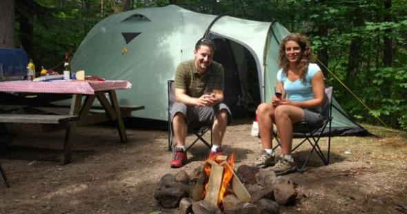 Camping parc national du Mont-Tremblant