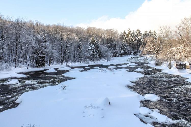 Les chutes Wilson au Parc régional de la Rivière-du-Nord