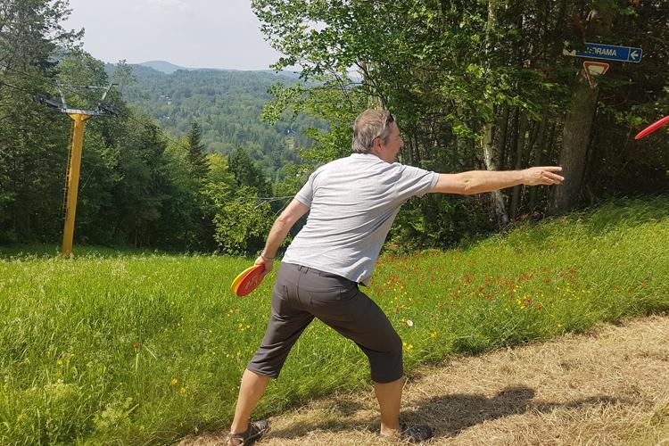 disc-golf à Vallée Bleue