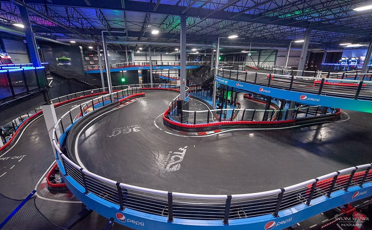 Centre Tag E-Karting