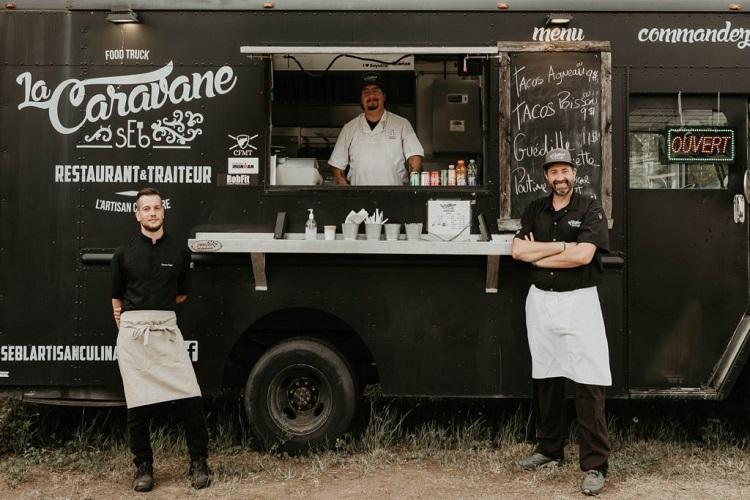 Le camion de rue de sEb l'Artisan Culinaire